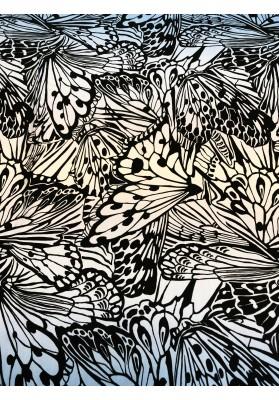Cupro wzór skrzydeł motyli VII - 1