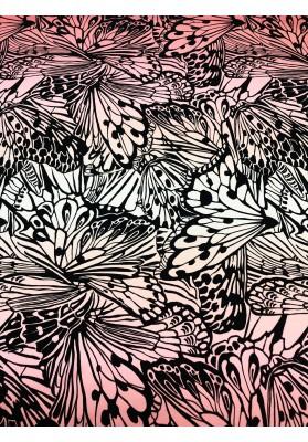 Cupro wzór skrzydeł motyli VIII - 1
