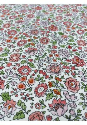 Krepa jedwabna wiosenne kwiaty - 2