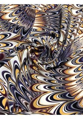 Krepa jedwabna kosmos - 3