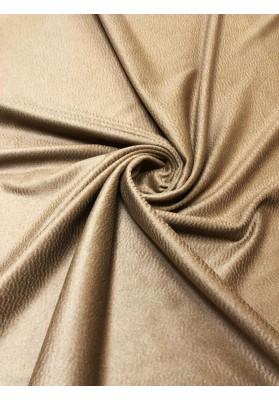 Wełna płaszczowa kaszmir camel neutralny z fakturą - 1