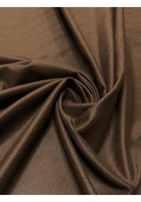 Wełna płaszczowa kaszmir czekoladowy brąz - 1