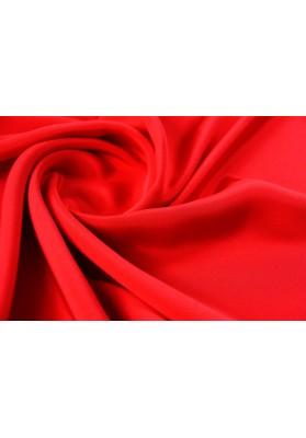 Jedwabna krepa podwójna czerwień - 0