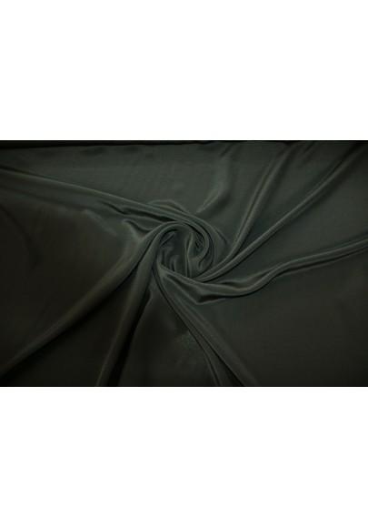 Krepa jedwabna czarna - 1