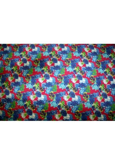 Wełna kolorowe kwiaty - 0
