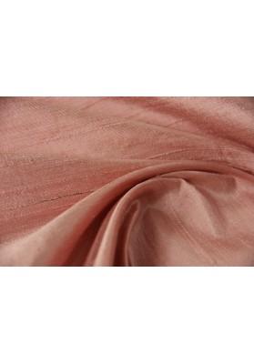 Szantung jedwabny jasny róż - 0
