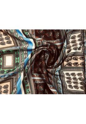 Satyna jedwabna patchwork I - 5