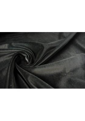 Aksamit bawełniany czarny - 0