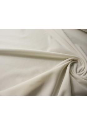 Aksamit bawełniany biały - 0