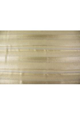 Żakard złoto-srebrne pasy - 0
