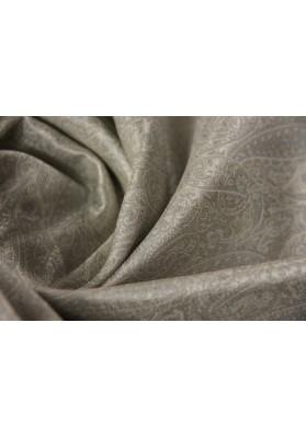 Żakard paisley srebro - 0
