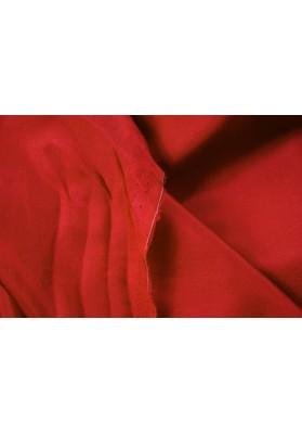 Podszewka jedwabna habotai czerwona - 0