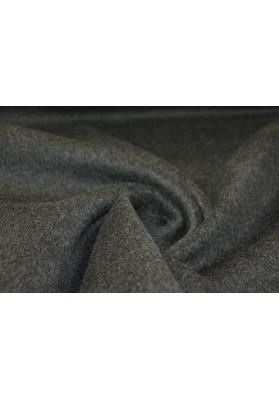 Wełna płaszczowa ciemny popiel - 0