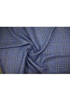 Wełna ubraniowa krata Loro Piana - 0