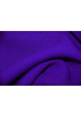Wełna krepa ubraniowa chaber/kobalt - 0