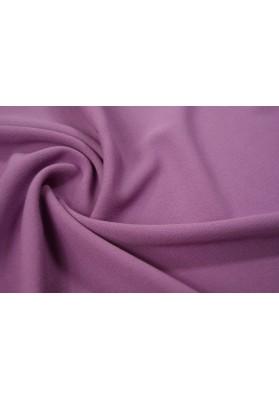 Wełna krepa ubraniowa fiolet - 0
