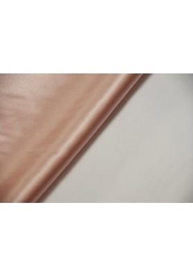 Satyna jedwabna z elastanem jasny róż - 0