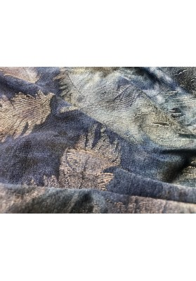 Dzianina batik pióra - 0
