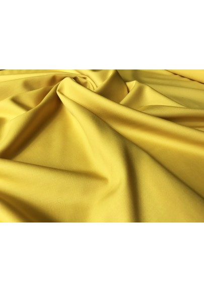 Wełna ubraniowa żółta 120's - 0