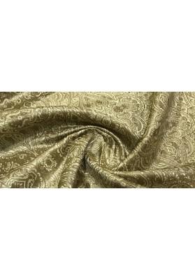 Żakard ornament złoty - 0