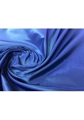 Tafta jedwabna niebieska - 0