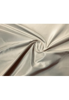 Tafta jedwabna kość słoniowa/jasny beż - 0