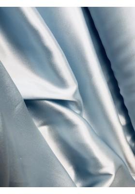 Satyna jedwabna pastelowy błękit - 0