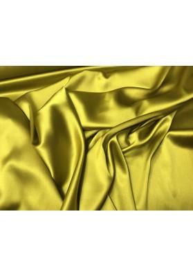 Satyna jedwabna żółto-zielona - 1