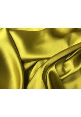 Satyna jedwabna żółto-zielona - 2