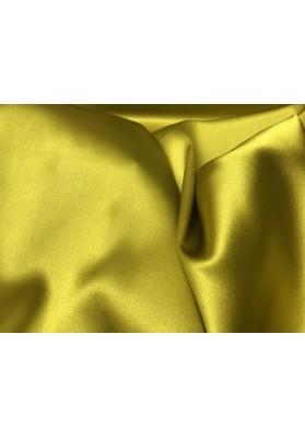 Satyna jedwabna żółto-zielona - 3