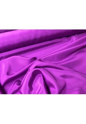 Krepa jedwabna fiolet biskupi - 0