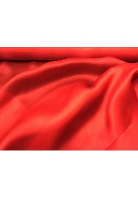 Organza jedwabna czerwień - 0