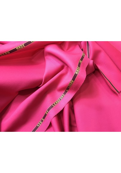 Wełna ubraniowa 150 's intensywny róż - 0