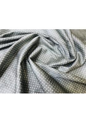 Bawełna drobne białe kropki - 0