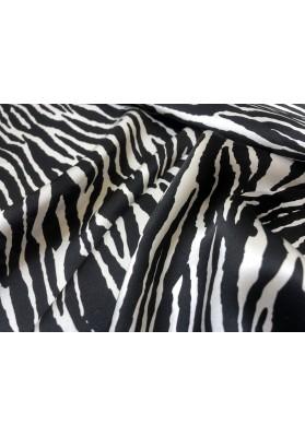 Satyna jedwabna zebra - 0