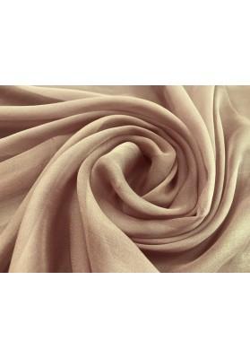 Muślin jedwabny brudny róż - 0