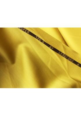 Wełna ubraniowa 120's żółta - 0