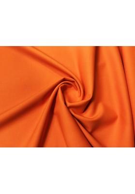 Wełna ubraniowa z elastanem orange - 0