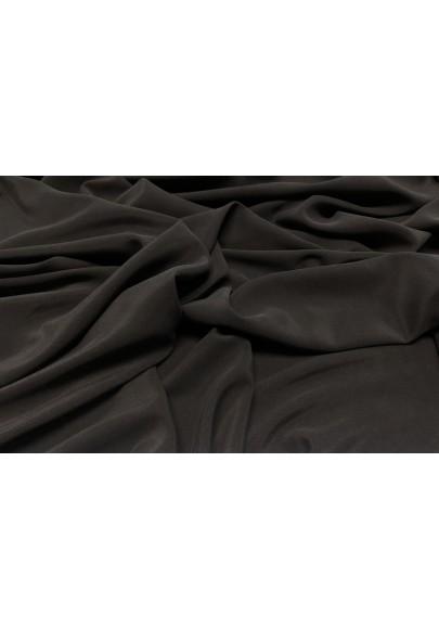Krepa jedwabna cupro grafit - 1