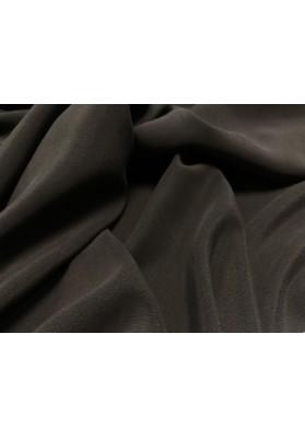 Krepa jedwabna cupro grafit - 2