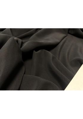 Krepa jedwabna cupro grafit - 3