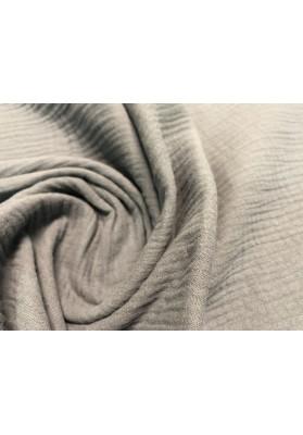 Muślin bawełniany popiel - 3