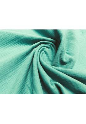 Muślin bawełniany zieleń - 1