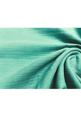 Muślin bawełniany zieleń - 2
