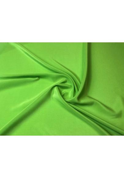 Krepa jedwabna zieleń II - 1