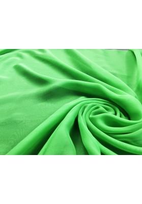 Muślin jedwabny intensywna zieleń - 2