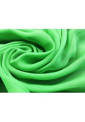 Muślin jedwabny intensywna zieleń - 3