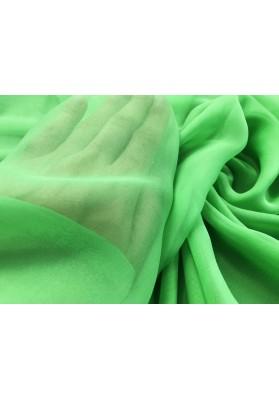 Muślin jedwabny intensywna zieleń - 4