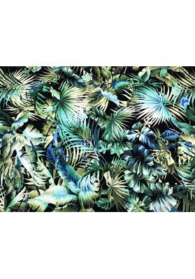 Krepa jedwabna Dżungla II D&G