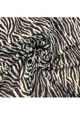 Tiul plisowany zebra - 5